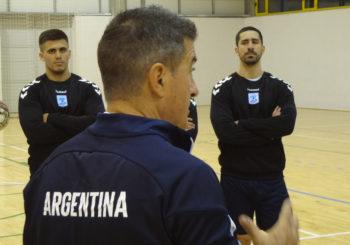 La Selección Argentina ya se entrenó en España de cara al Torneo Internacional