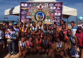 Un oro y dos platas para las Selecciones Argentinas juveniles de beach handball en su gira por Brasil