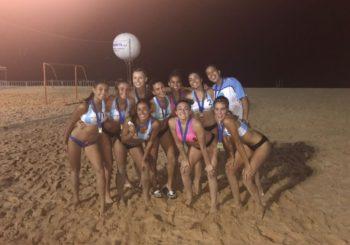 Beach Juvenil: las chicas terminaron segundas y los varones arrancaron la Copa Kika