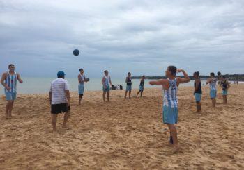 Sigue la Copa Kika de Beach Handball en Brasil con participación argentina