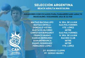 El beach masculino tiene a los 10 nombres que viajarán al Panamericano