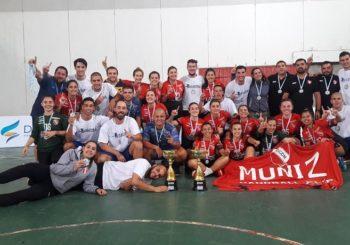 """Muñiz, en mujeres, y SOMISA, en varones, se consagraron campeones del Nacional de Clubes Adultos """"C"""""""