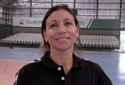 """Giselle Pintos, DT de la Sel. Juvenil: """"Sería un éxito grandioso salir campeonas en casa"""""""
