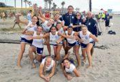 Tras salir segunda de grupo en ambas ramas, Argentina se jugará el pase al Mundial de Beach en cruces decisivos
