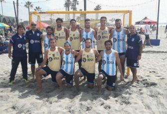 Argentina terminó 4° en varones y 5° en damas en el Panamericano de Beach