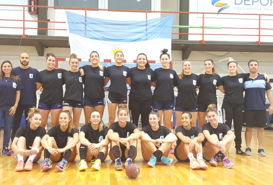 Argentina superó a Uruguay y mañana debutará en el Panamericano Juvenil