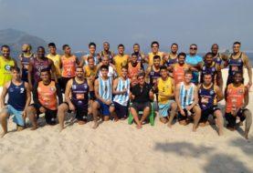 Saldo más que positivo para la gira del beach juvenil masculino en Brasil