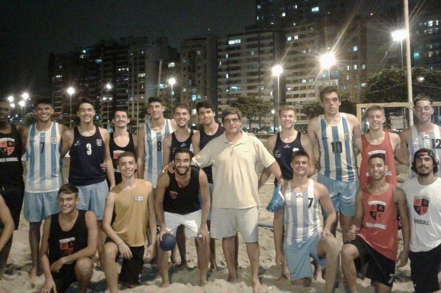 La Selección Juvenil Masculina de Beach se prepara en Brasil