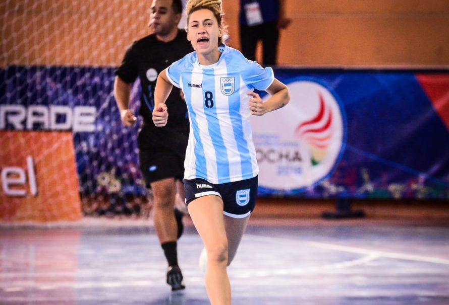 La Selección Femenina le ganó a Perú en el arranque de los Juegos Suramericanos