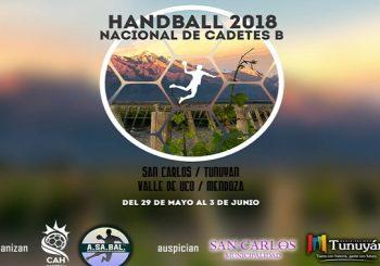 """Nacional de Clubes Cadetes """"B"""" – San Carlos/ Tunuyán, Mendoza 2018   Torneo"""