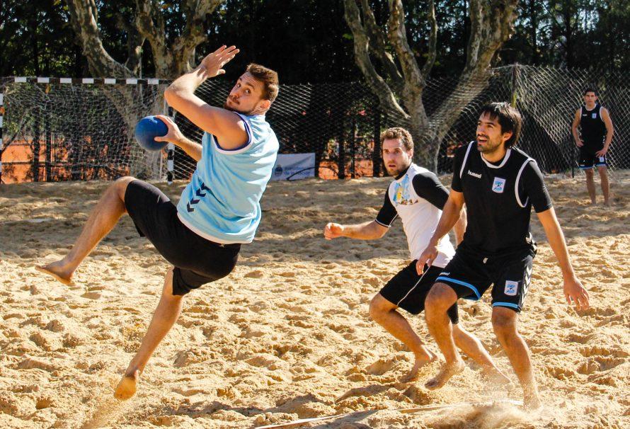 Con optimismo, la Selección Argentina se prepara para el Mundial masculino de beach handball