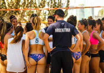 La Selección Juvenil Femenina de Beach realizará una gira por Brasil como preparación para Buenos Aires 2018
