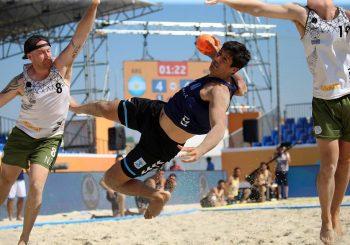 Triunfo argentino en la última fecha de la Ronda Consuelo del Mundial de Beach Handball