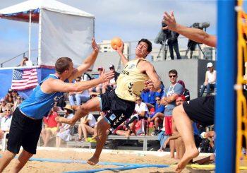 Argentina derrotó a Estados Unidos y finalizó en el 11° puesto del Mundial de Beach Handball