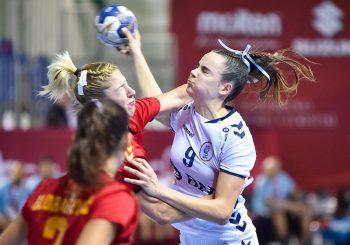 La Selección Femenina no pudo con Montenegro y mañana jugará por el puesto 19
