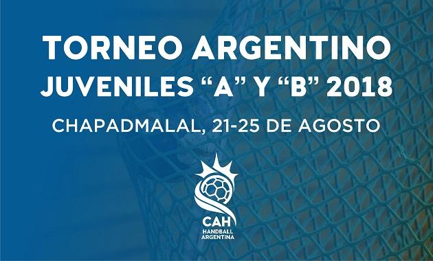 """Argentino de Selecciones Juveniles """"A"""" y """"B"""" – Chapadmalal, Buenos Aires 2018   Torneos"""