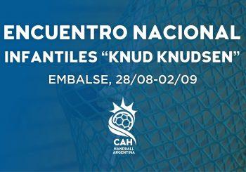 "Encuentro Nacional de Clubes Infantiles ""Torneo Dirigente Knud Knudsen"" - Embalse 2018 | Torneos"